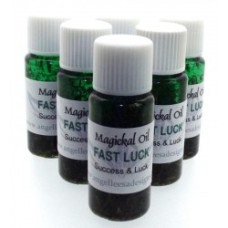10ml Fast Luck Herbal Spell Oil Success and Luck