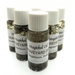 10ml Graveyard Dirt Herbal Spell Oil Bad Neighbours