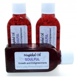 25ml Soulful Herbal Spell Oil Growth and Enlightenment