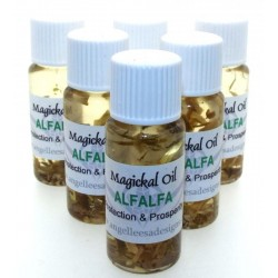 10ml Alfalfa Herbal Spell Oil Protection and Prosperity