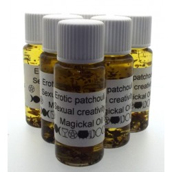 10ml Erotic Patchouli Herbal Spell Oil Sexual Creativity