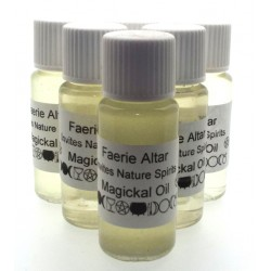10ml Faerie Altar Herbal Spell Oil Invite Nature Spirits