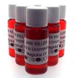 10ml Jinx Killer Herbal Spell Oil Help to Uncross