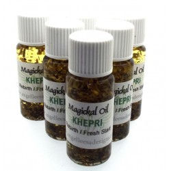 10ml Khepri Herbal Spell Oil Rebirth New Start