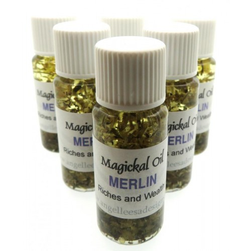 10ml Merlin Herbal Spell Oil Riches and Wealth
