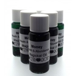 10ml Money Herbal Spell Oil Wealth and Abundance