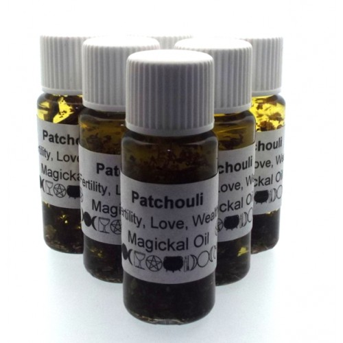 10ml Patchouli Herbal Spell Oil Fertilty Love Wealth
