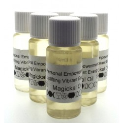 10ml Personal Empowerment Herbal Spell Oil Vibrant Energy
