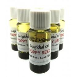 10ml Poppy Seed Herbal Spell Oil Happiness Love Luck