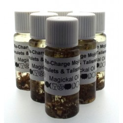 10ml Recharge Mojo Herbal Spell Oil Amulets and Talismans