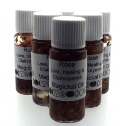 10ml Rose Herbal Spell Oil Love Healing Clairvoyance