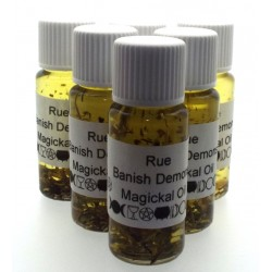 10ml Rue Herbal Spell Oil Banish Demons