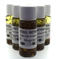 10ml Soul Retrieval Herbal Spell Oil Past Life Consciousness