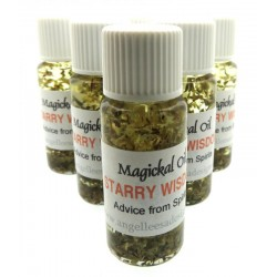 10ml Starry Wisdom Herbal Spell Oil Guidance From Spirits