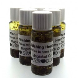 10ml Wishing Heart Herbal Spell Oil Wish to Come True