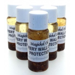 10ml Fiery Wall of Protection Herbal Spell Oil