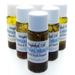 10ml Spiritual Healing Herbal Spell Oil Mind Body Soul Repair