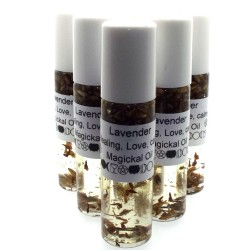 15ml Roll on Bottle Lavender Magickal Oil