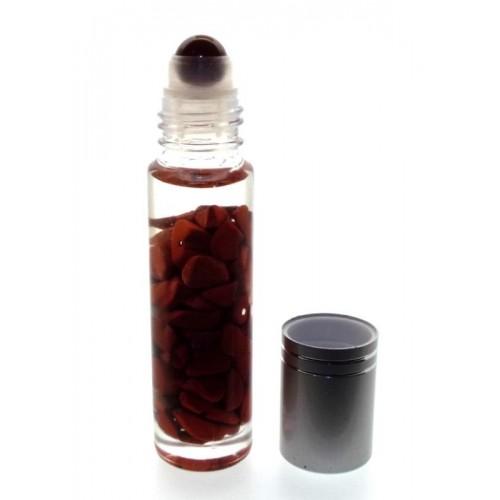 10ml Roll on Bottle Red Jasper Gemstone Oil