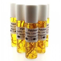 15ml Roll on Bottle Patchouli Magickal Oil